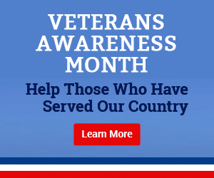 Veterans Awareness Month - Help Those Who Have Served Our Country