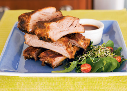 how to cook baby back ribs in the oven uk