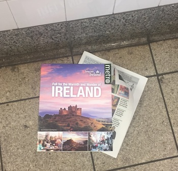 Why is God calling me to Ireland? The newspaper and catalog.