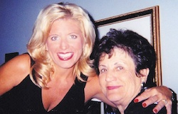 Michelle Medlock Adams and her mom.