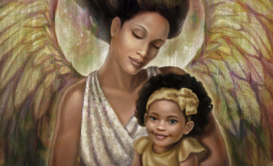 mothers are angels Erma bombeck — 'when god created mothers when the good lord was  creating mothers, he was into his sixth day of overtime when the angel appeared  and.