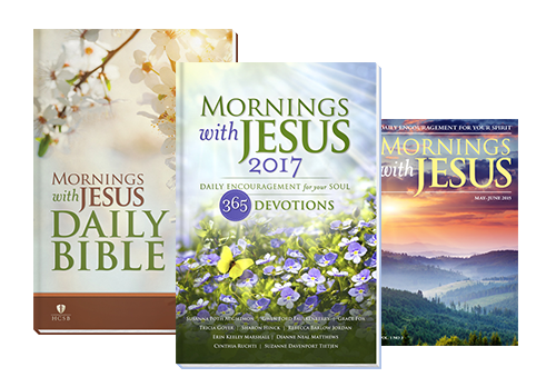Our new product, Mornings with Jesus Daily Bible