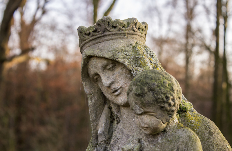 Mary, the Lord's servant. Photo by Lindner79, Thinkstock.