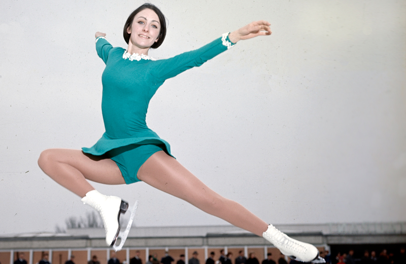 Peggy Fleming Figure Skating Pictures to pin on Pinterest
