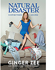 The cover of Natural Disaster by Ginger Zee