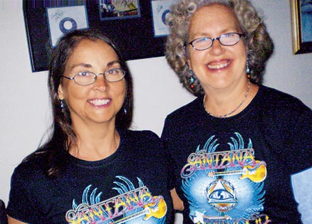 Susan Sarver (right) and her sister-in-law Jennifer