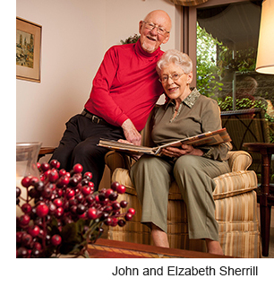 John and Elizabeth Sherrill; photo by Shawn G. Henry