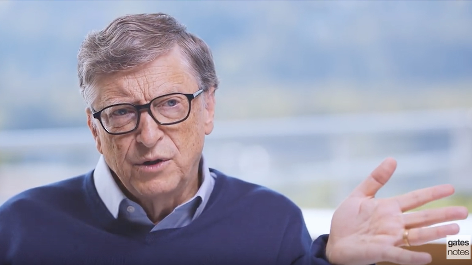 Billionaire and philanthropist Bill Gates discusses his plans on funding Alzheimer's research