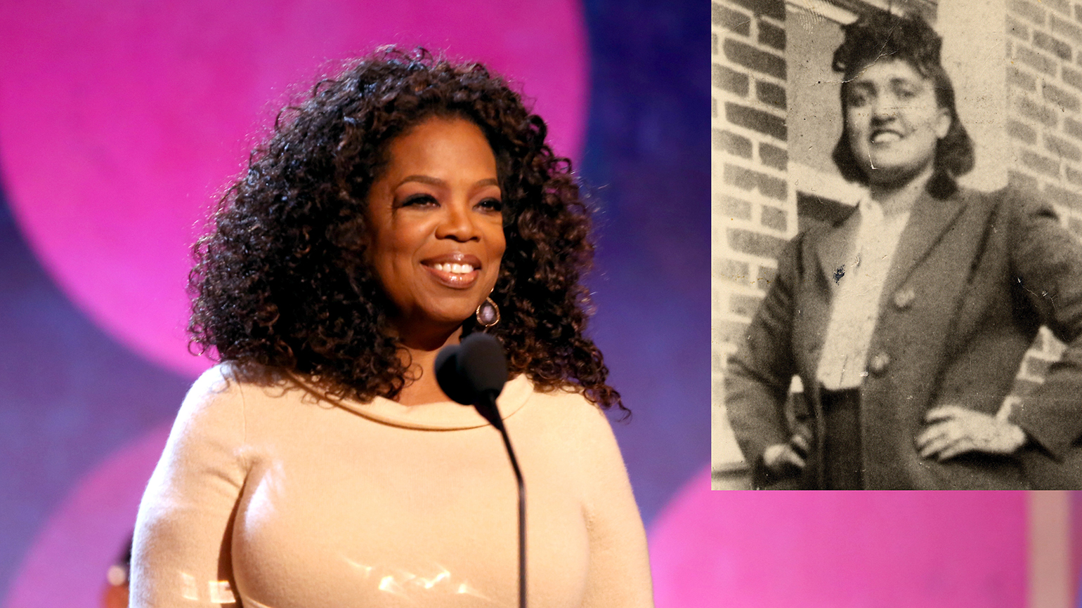 Oprah Winfrey and Henrietta Lacks, The Immortal Life of Henrietta Lacks