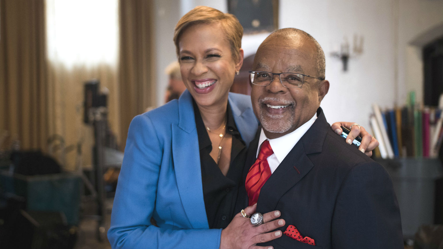 Henry Louis Gates Jr. and Tonya Lewis-Lee