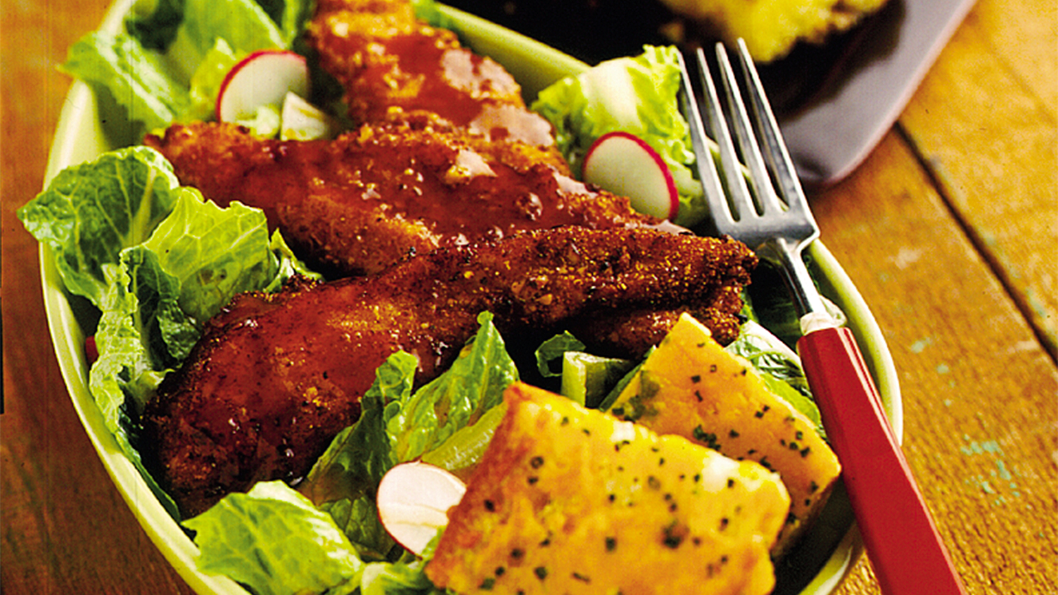 Dinner Recipes Pecan Crusted Chicken Tenders By Rachael Ray