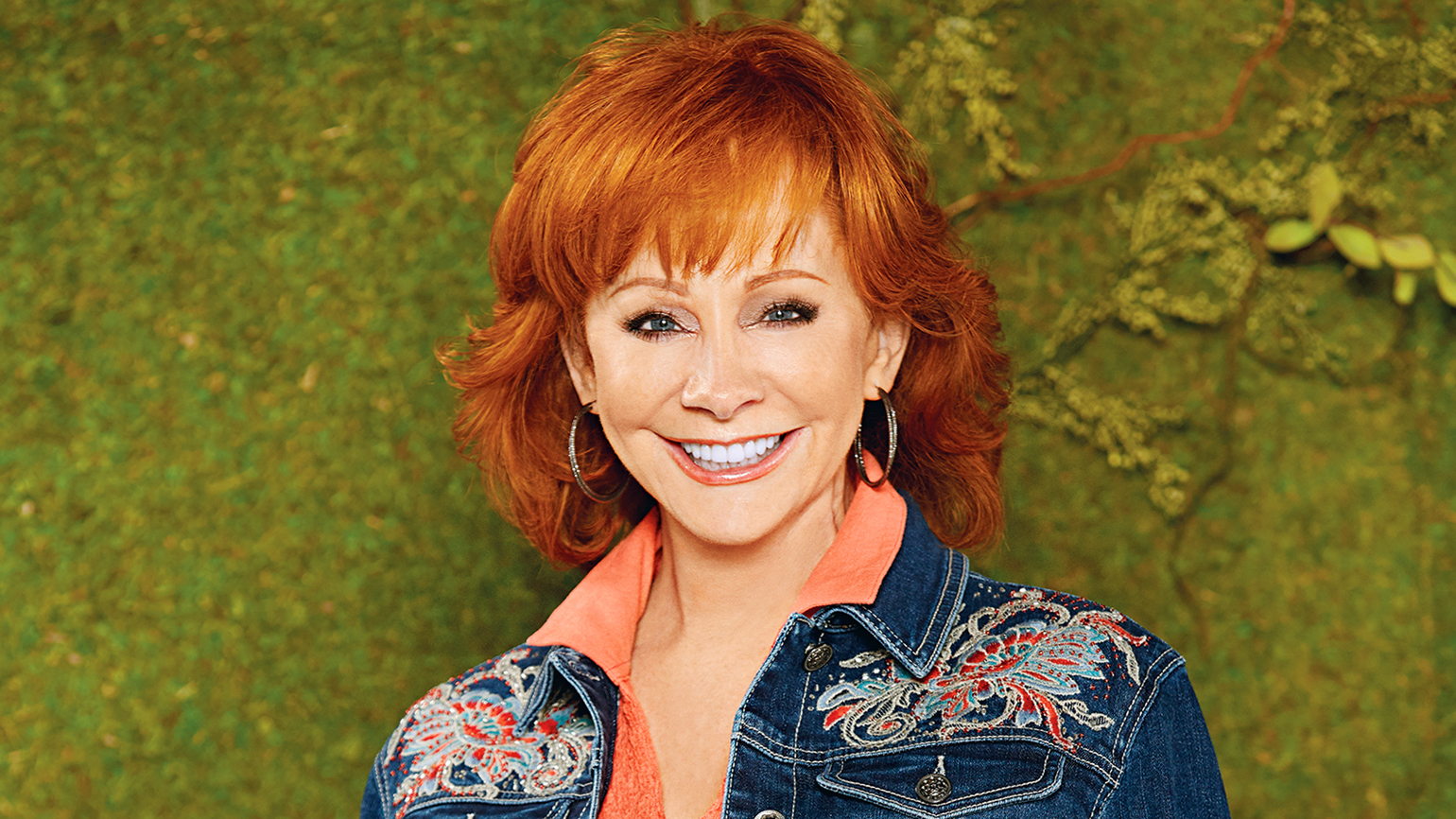 Country music superstar Reba McEntire