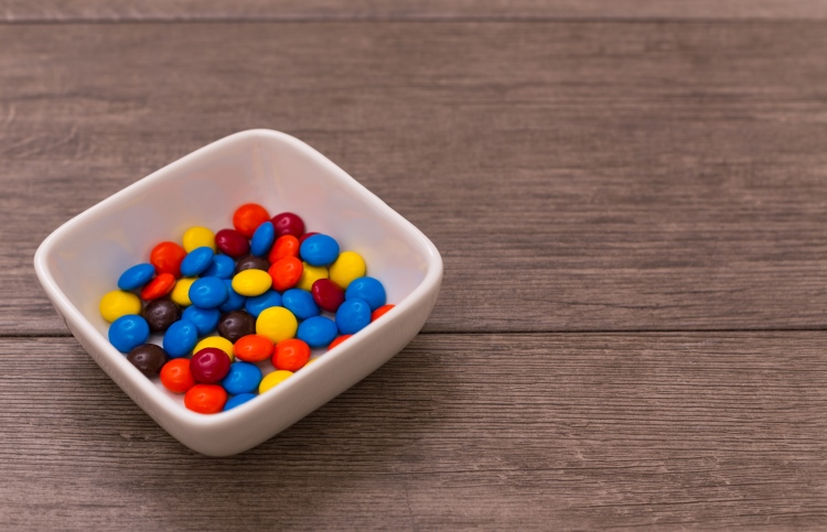 A bowl of M&Ms inspired her family to spend time with Jesus.