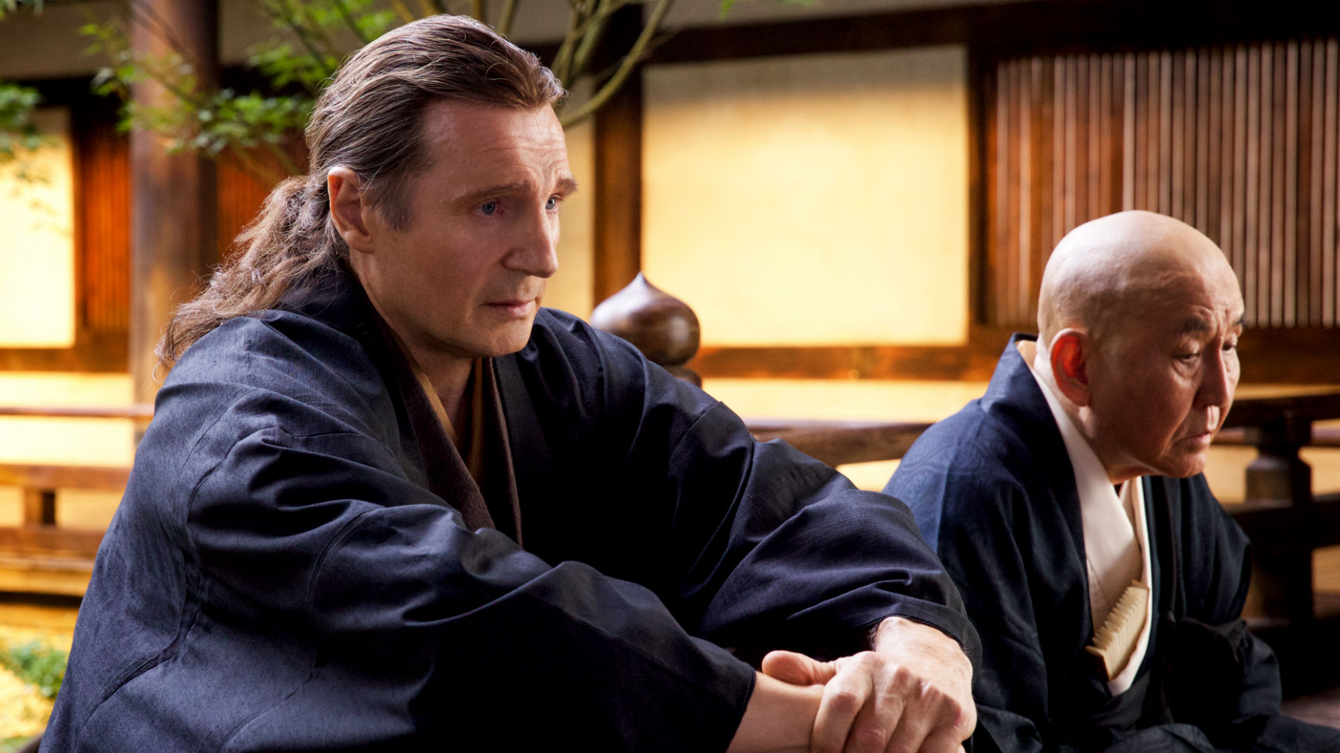 "Liam Neeson in ""Silence"""