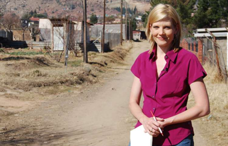 Kate Snow found this inspiring story in Africa