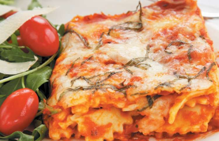 Dinner recipes: Ravio-sagne