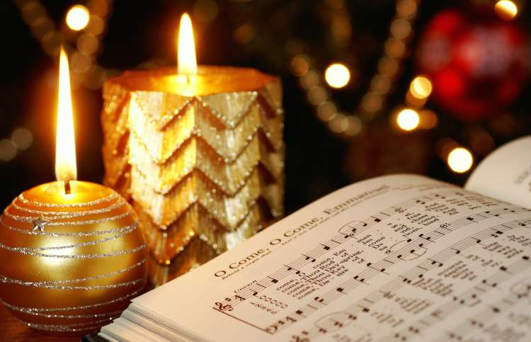 Pray some Christmas carols.