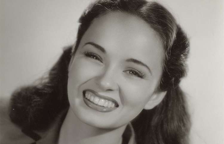 Actress Ann Blyth
