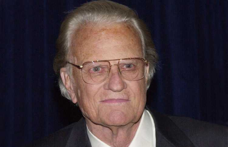 Rev. Billy Graham in 2000
