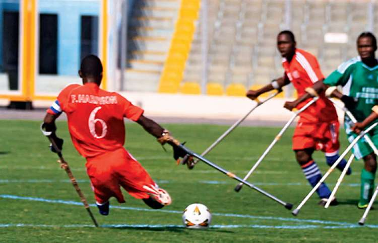 The Liberian Lone Stars in action