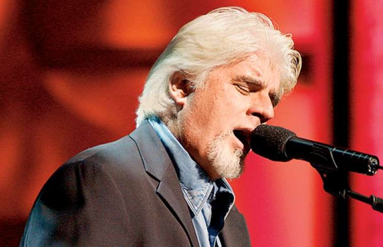 Michael McDonald performing in concert