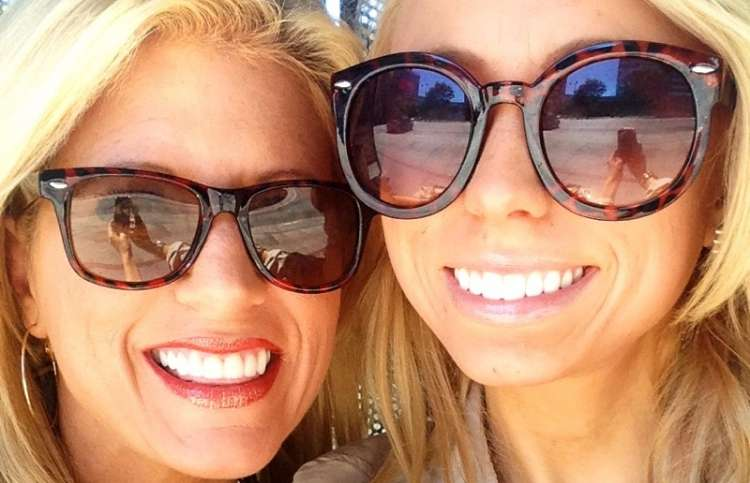 Inspirational Stories blogger Michelle Medlock Adams and daughter Allyson