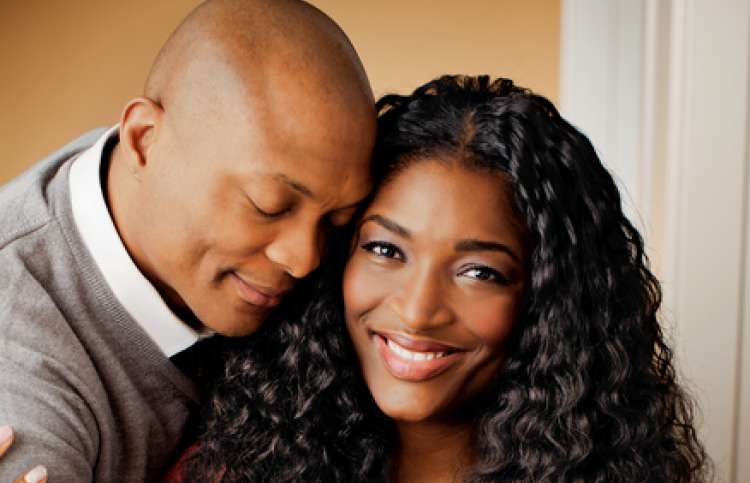 Tamara Johnson-George and her husband Eddie