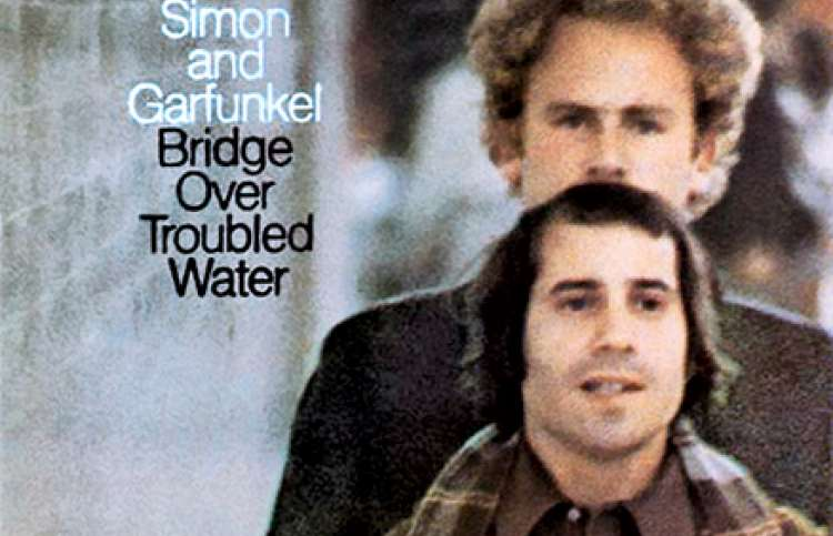 Cover for Simon and Garfunkel's album Bridge Over Troubled Waters