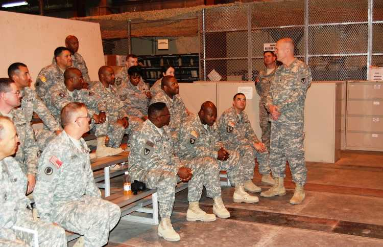 AMC Chaplain Visit - Guideposts Military Outreach