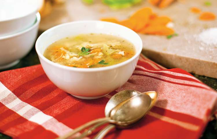 Guideposts: Anne Roy's Leftover Turkey Soup is a tasty family favorite after Thanksgiving.
