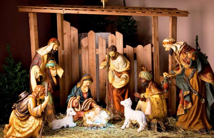 Celebrate Jesus This Christmas: Nativity scene