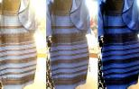One dress, three perceived colors.