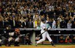 Derek Jeter at bat