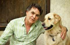 Edward Grinnan and his beloved dog Millie