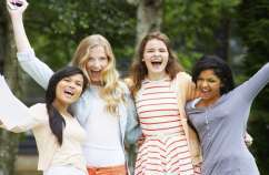 Teen girls say yes to God