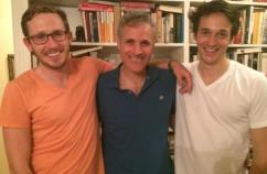 Blogger Rick Hamlin and his two grown-up sons!