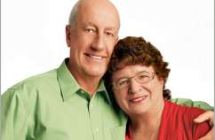 Neil Newman and his wife, Aline