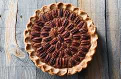 Mario Batali's Thanksgiving Pecan Pie