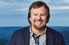 """I didn't need to hold it together anymore. I needed to be held,"" says Mark Hall of Casting Crowns"