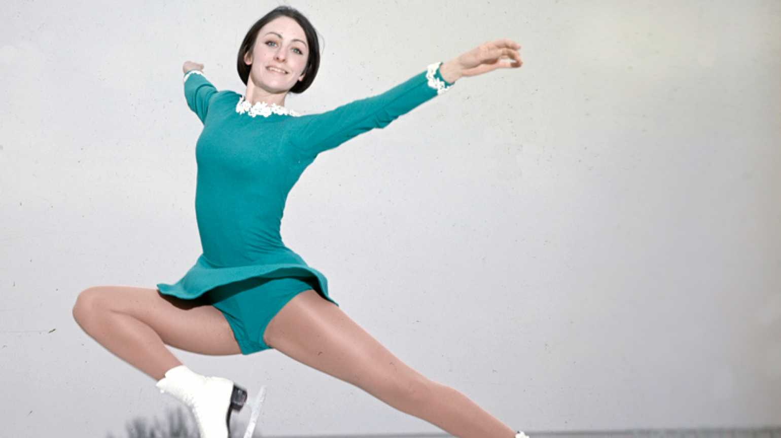 Peggy Fleming Performs On The Ice.