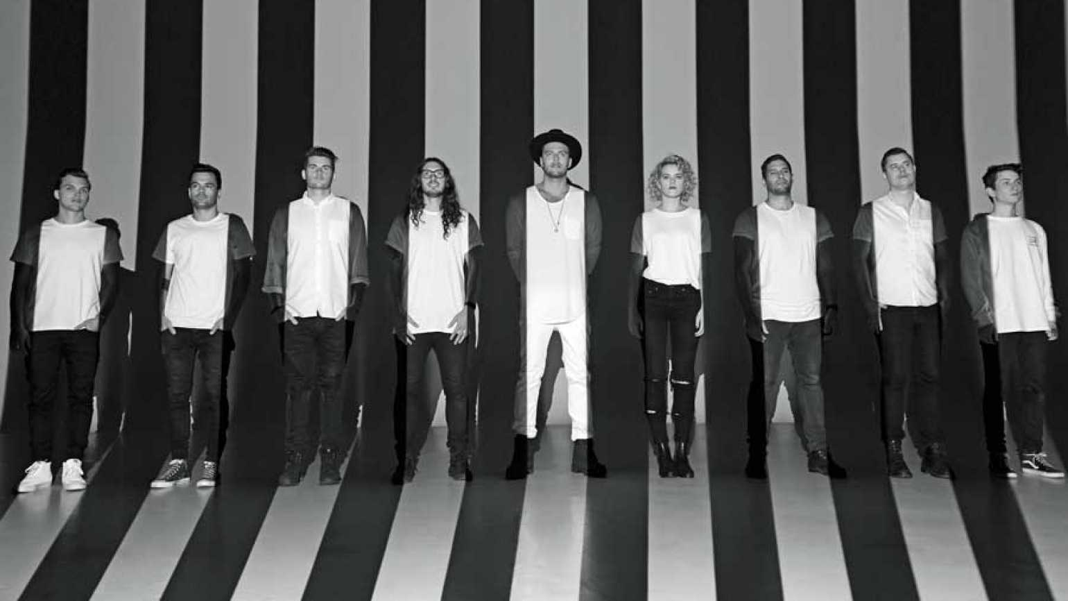 Members of the band Hillsong United