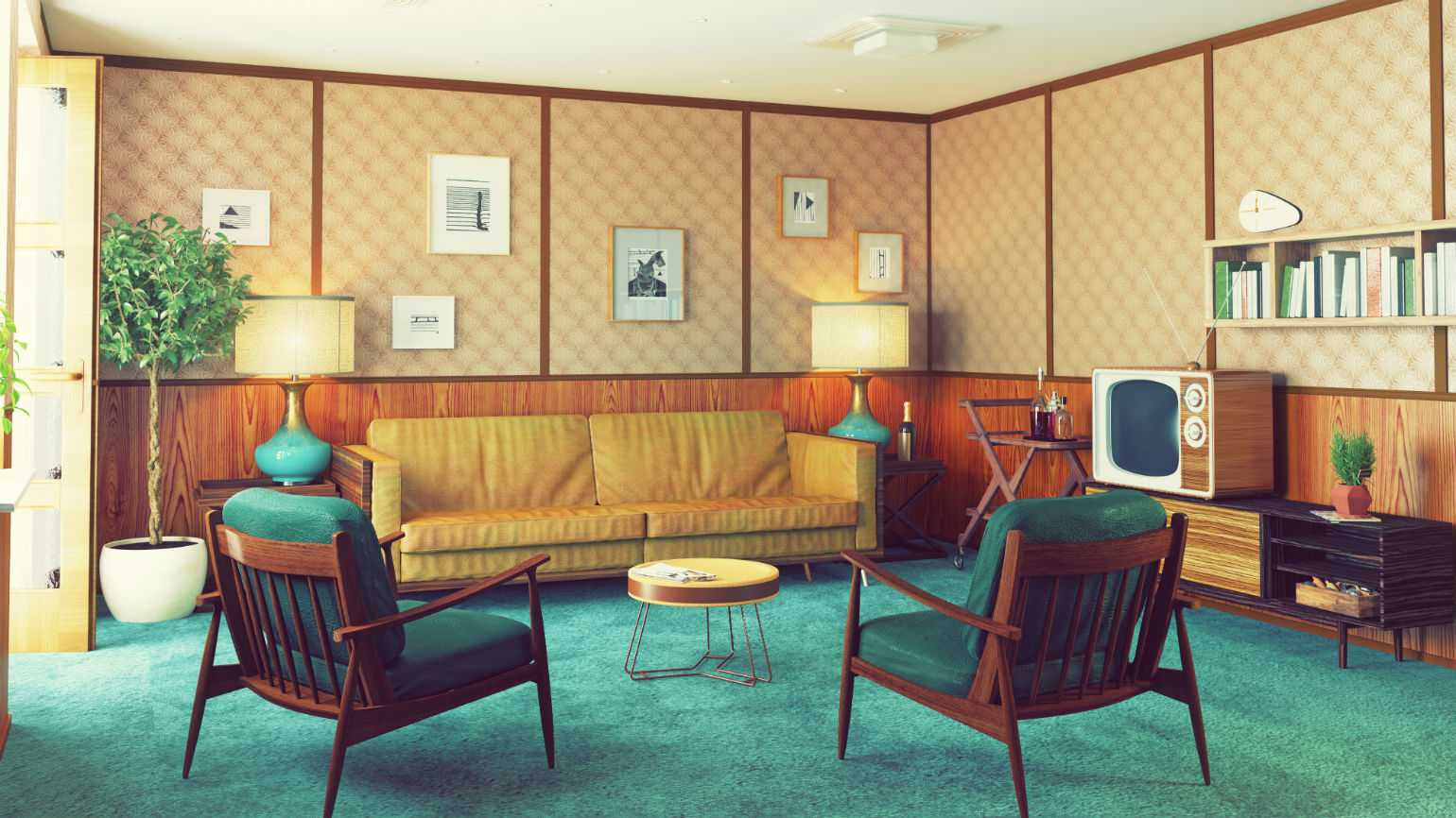 1960s living room husband builds 1960s room alzheimer s guideposts 10390