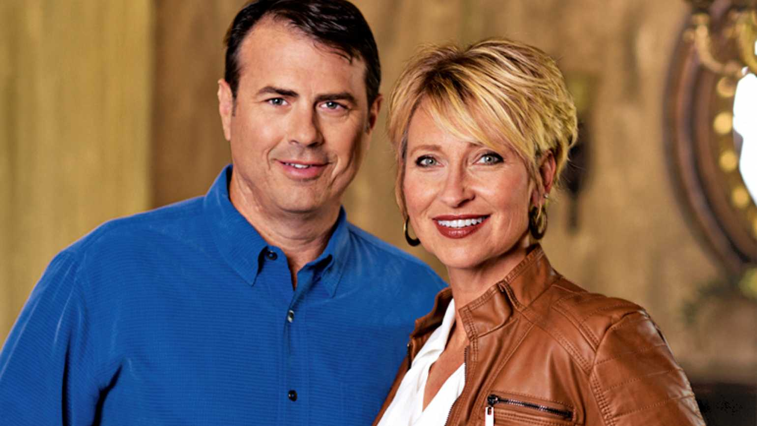Guideposts: Lori Hogan with her husband and business partner, Paul