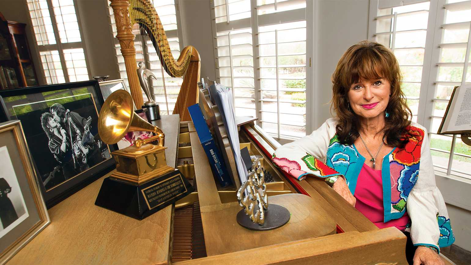 Jessi Colter's faith was inspired by her mom, who was a preacher.