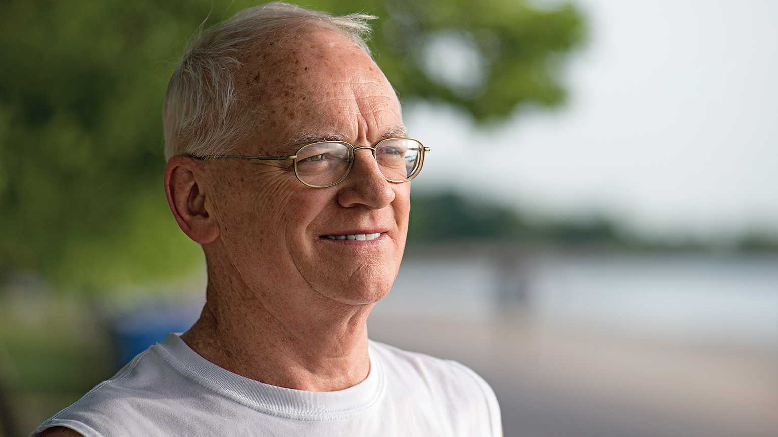Dennis McNicholas discovered a side to his personality that he didn't know he had