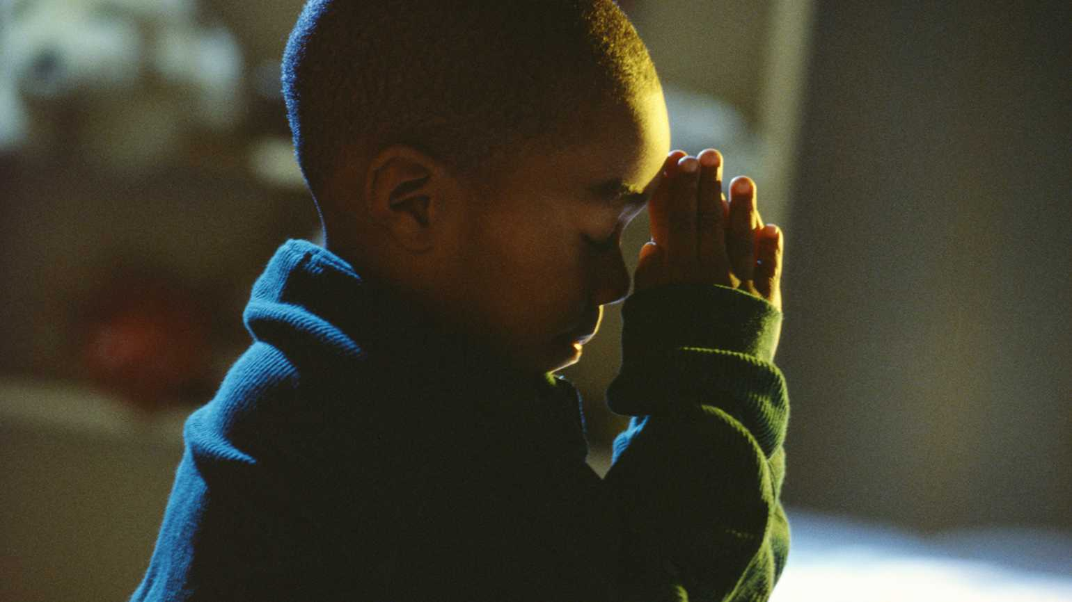 A young child's bedside prayer