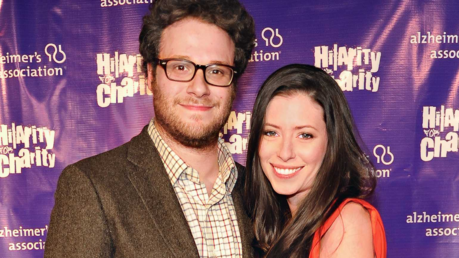 Seth Rogen and his wife, Lauren, started a program to help caregivers of loved ones with Alzheimer's.