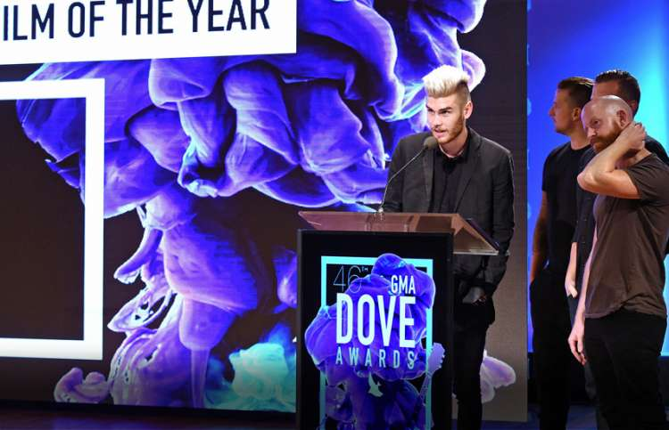Colton Dixon readies for the 46th Annual GMA Dove Awards