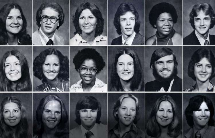 Members of the Class of 1976, John Marshall High School, Oklahoma City
