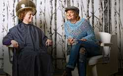 Healing and hairstyling--Lacy was inspired to bring both to Kim in her grief